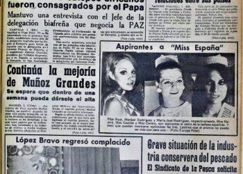 Diario Área, 2 de agosto de 1969.