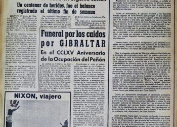 Diario Área, 5 de agosto de 1969.