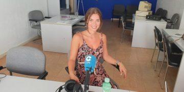 Mireya Alcázar en nuestro estudio de COPE en Estepona
