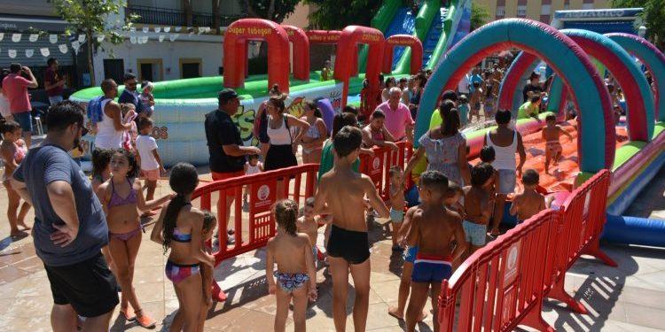 Fiesta Infantil Acuática en la Estación de San Roque