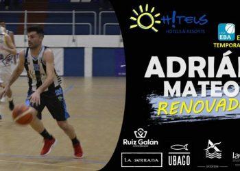 Adrián Mateos, renovado por el club