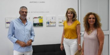 Inauguración de la muestra en Art Atelier