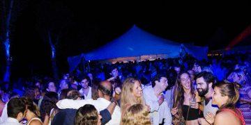 Terraza disco 'After Polo' en Santa María Polo Club.