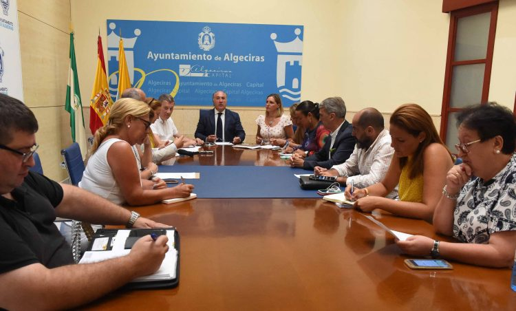 Reunión del Consejo de administración de Emcalsa