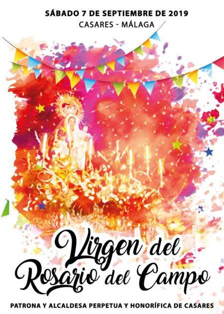 Cartel de la festividad de Casares
