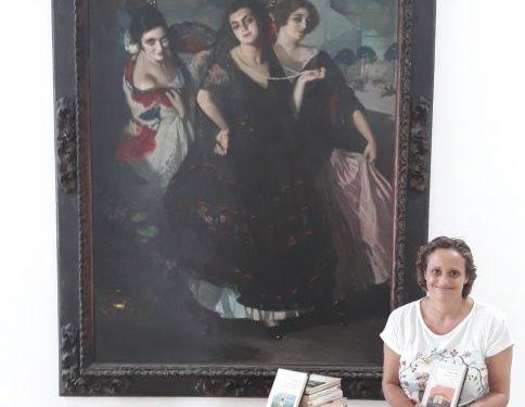 Donación de libros para el Museo Cruz Herrera