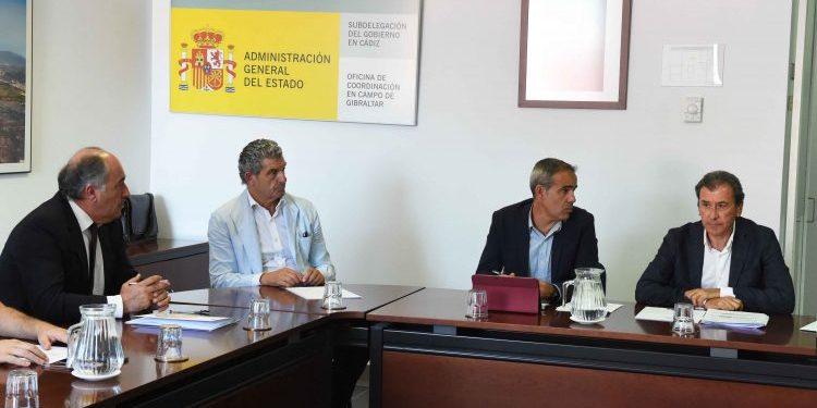 El encuentro ha tenido lugar en las oficinas de la AGE en Algeciras