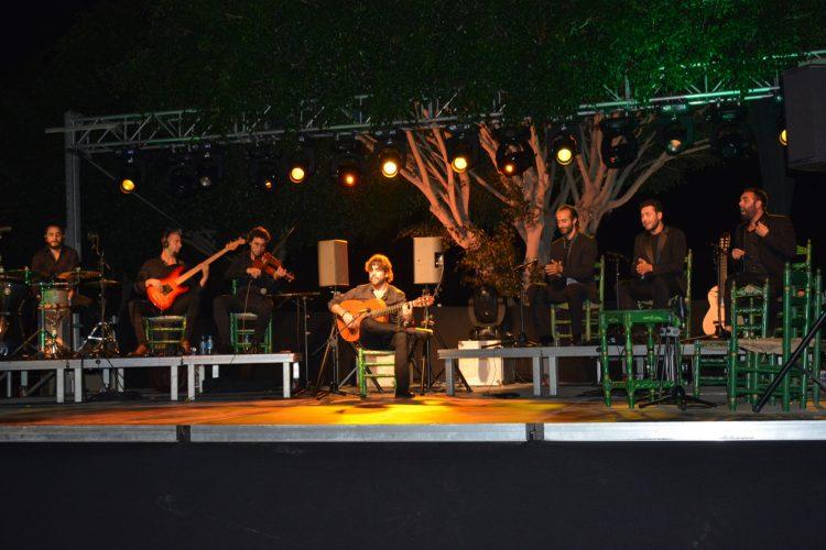 Actuación del guitarrista malagueño Daniel Casares, que no era la primera vez que actuaba en San Roque