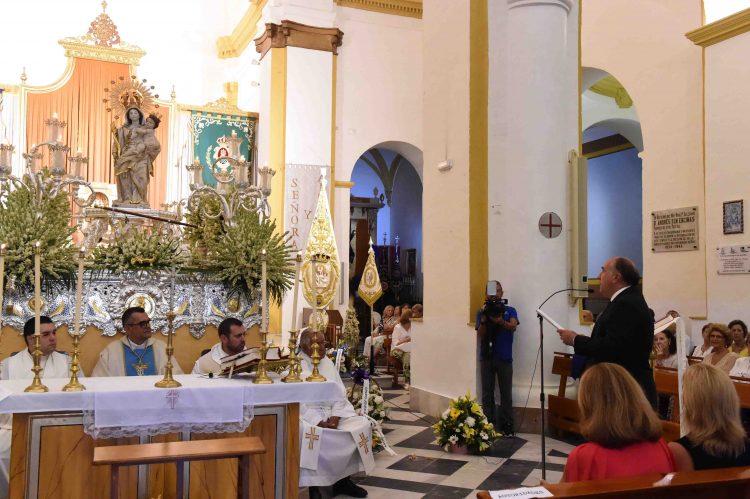Landaluce, renovando el voto de fidelidad a la Virgen de la Palma