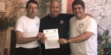 Pérez, Gil y Cózar, con el convenio