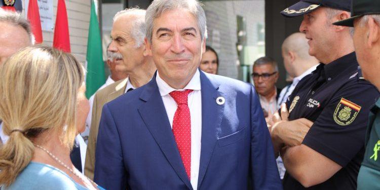 El delegado del Gobierno en funciones en Andalucía, Lucrecio Fernández.