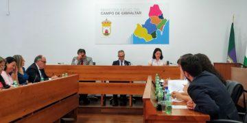 Pleno de la Junta de Comarca de la Mancomunidad de Municipios. (Archivo)