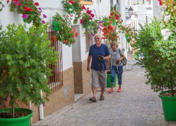 Calles remodeladas en el centro histórico.