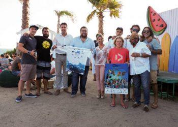 Presentación del evento deportivo en Tarifa