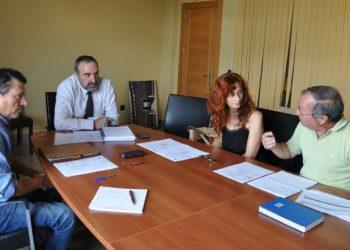 Reunión en el Ayuntamiento de Los Barrios