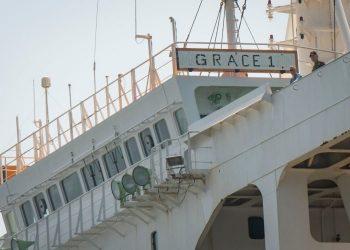 Grace 1, en aguas de Gibraltar. Marcos Moreno