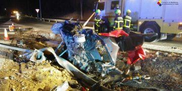 Imagen del Consorcio de Bomberos de Cádiz del accidente.