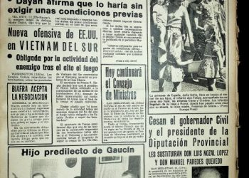Diario Área, 13 de septiembre de 1969.