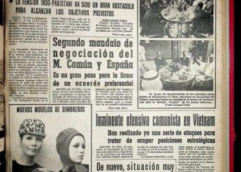 Diario Área, 26 de septiembre de 1969.