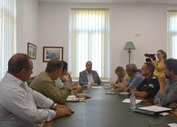 El alcalde, reunido con los técnicos municipales