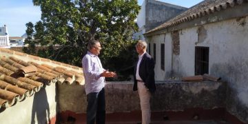 Juan Lozano y Jesús Fernández, este martes.