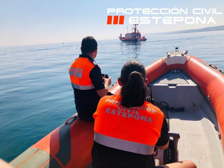 Embarcaciones de Protección Civil y Salvamento Marítimo.