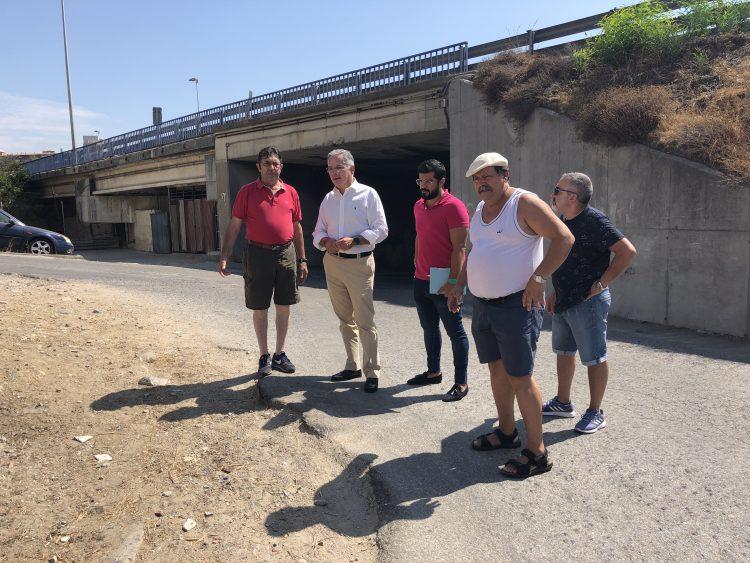 Visita municipal con la Asociación 'La Capelina'