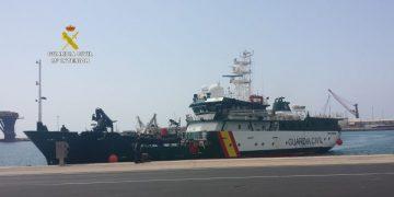 El buque oceánico Río Miño.