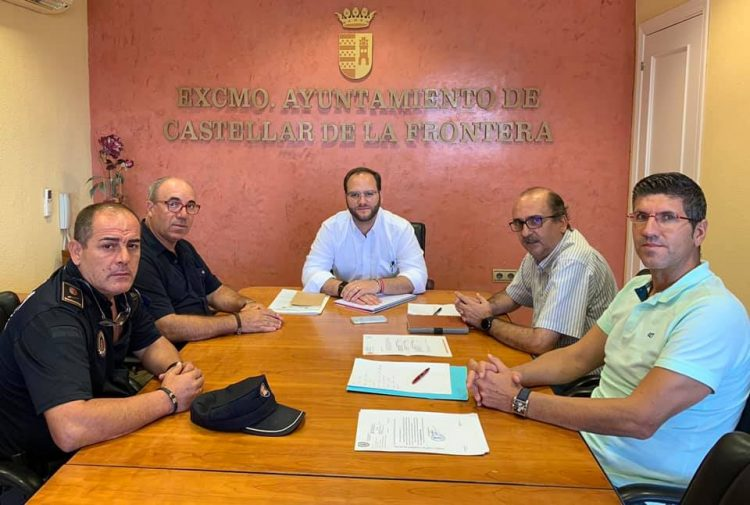 Reunión en el Ayuntamiento de Castellar