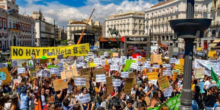 Huelga Mundial por el Clima.