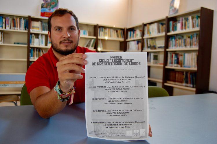 Daniel Pérez Cumbre, concejal de Bibliotecas y Cultura