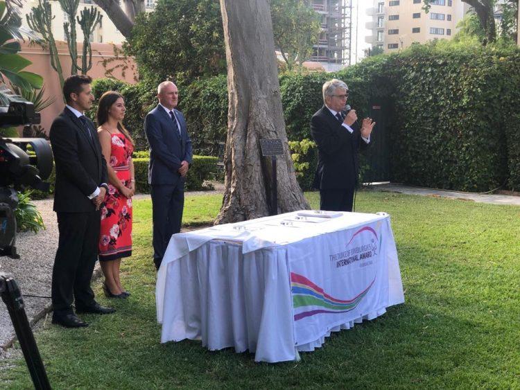 Otro momento del acto celebrado en la tarde de este miércoles en Gibraltar