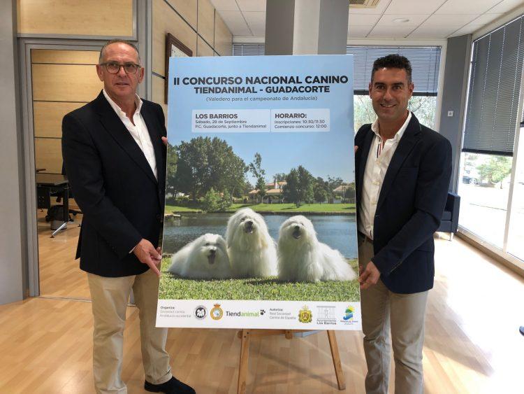 Presentación del II Concurso Nacional Canino de Los Barrios