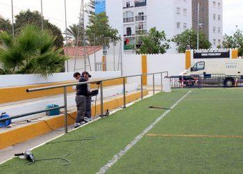 Reforma integral de los campos de fútbol