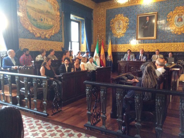 La Corporación Municipal celebró un pleno extraordinario