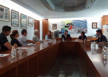 Reunión de Ciudadanos con empresarios y propietarios del Cortijo Real.
