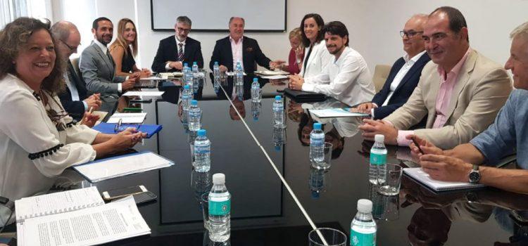 Reunión de la UCA y el Ayuntamiento