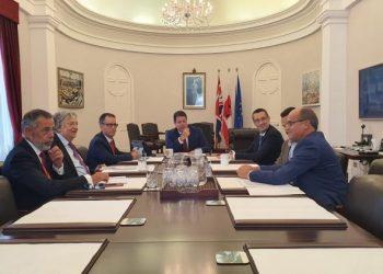 Reunión entre las autoridades de La Línea y Gibraltar sobre el Brexit.