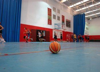 Actividad en el Pabellón Municipal de Deportes de San Roque