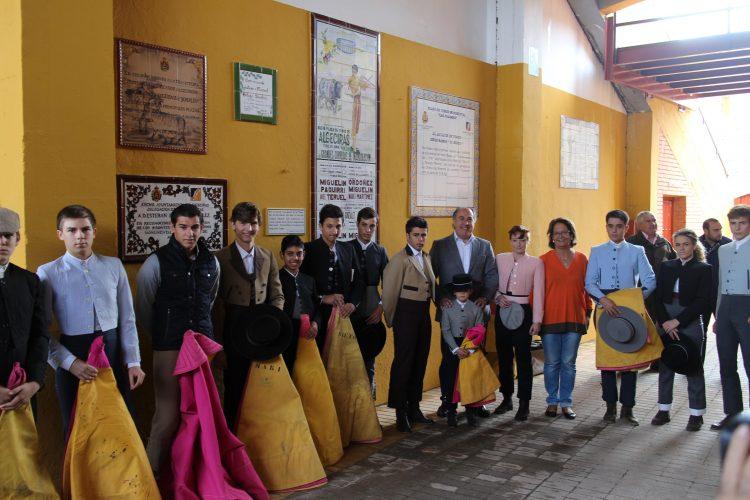 Competición de escuelas taurinas, en imagen de archivo