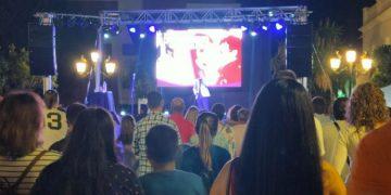 Público en el concierto de Nacho Lozano