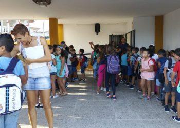 Inicio del curso escolar en Jimena de la Frontera.