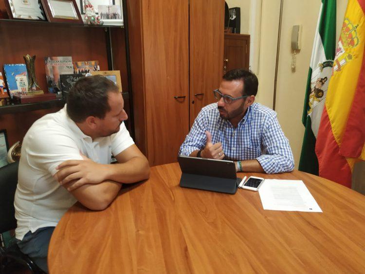 Álvaro Orduña y Francisco Javier Rodríguez Ros, reunidos