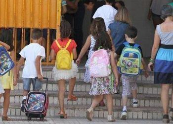 Un grupo de escolares, en imagen de archivo