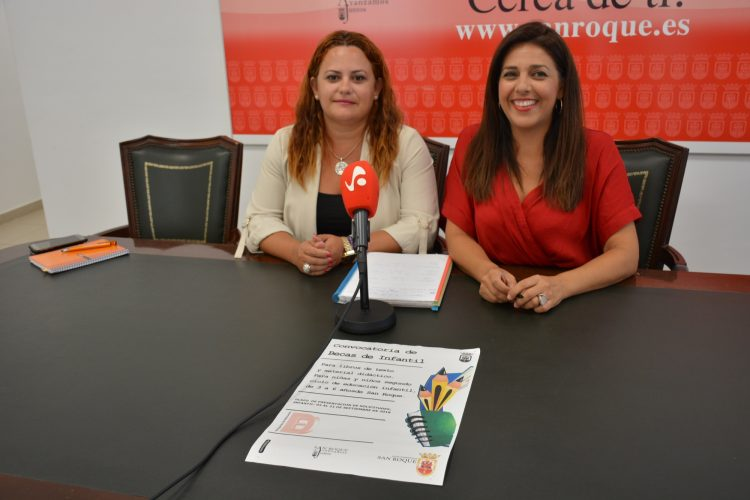 Mónica Córdoba y Belén Jiménez, en rueda de prensa