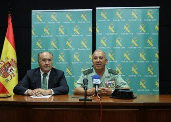 Landaluce y Nuñez, en un momento de la rueda de prensa.