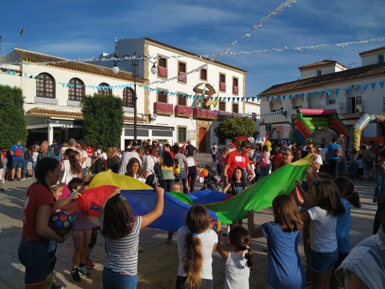 Niños participantes en esta jornada festiva