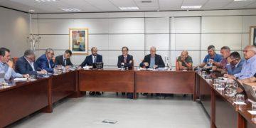 Foto de la comisión negociadora de ANESCO.