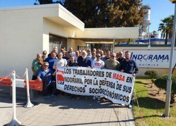 Los trabajadores llevan en huelga desde el pasado lunes, 21 de octubre