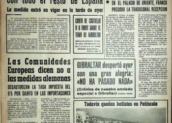 Diario Área, 2 de octubre de 1969.